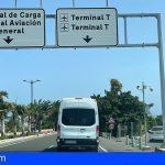 Taxistas del Aeropuerto Sur se sienten desamparados ante el intrusismo