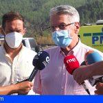 El incendio urbano-agrícola de La Palma se declara controlado y baja a nivel 1 del INFOCA