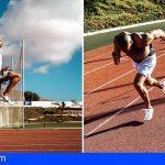 El campeón olímpico, Lamont Jacobs, se preparó para Tokyo en Arona