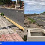 CC-PNC de Arona denuncia la falta de mantenimiento de las aceras en zonas de Valle San Lorenzo y Las Rosas
