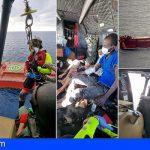 Canarias | El ejército del aire evacúa a 3 ocupantes de un cayuco a la deriva a 360nm del Sur de Gran Canaria