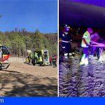 Bomberos rescataron este fin de semana a dos hombres en Arico y Arona