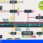 TITSA pone en marcha en el valle de Güímar nuevas líneas y ajusta su red de transporte