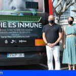 TITSA se suma a la campaña 'Nadie es inmune' para promover la vacunación