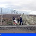 Salvar La Tejita informa, sobre la reposición del vallado de las obras del hotel