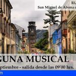 """San Miguel arranca el programa de rutas históricas 2021 con """"La Laguna musical"""""""