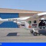 Un avión ralizará monitorización y seguimiento de la actividad sísmica de La Palma