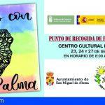 El Ayuntamiento de San Miguel pide tu gesto de solidaridad con La Palma