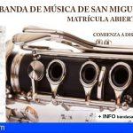 La Banda de Música de San Miguel abre su plazo de inscripción para el curso 21/22