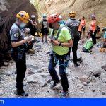Pillan en Güímar a un falso guía realizando, junto a 12 clientes, actividades de senderismo y descenso de barrancos