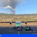 Binter cancela los vuelos nocturnos con La Palma
