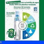 Lidl lanza la primera botella de agua hecha 100% con plástico reciclado, rPET