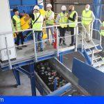El Cabildo automatiza la planta de residuos de envases en Arico y aumenta su capacidad de tratamiento