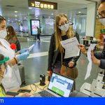 Sanidad finaliza el cribado de COVID-19 de los viajeros nacionales que lleguen a Canarias por vía aérea o marítima