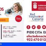 El ICHH comienza una campaña de donación de sangre en Playa de San Juan