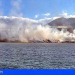 Aunque la lava ha alcanzado el mar, la erupción no está estabilizada y se sigue monitorizando