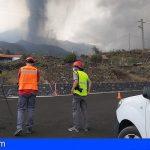 El Cabildo amplía el dispositivo destinado a La Palma para ayudar en la limpieza de las carreteras