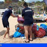Por octavo año Promemar ha realizado una limpieza submarina y de costa en las Teresitas