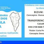 San Juan de Dios de Tenerife recauda fondos para apoyar a las familias damnificadas en La Palma