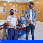 Stgo. del Teide   Elizabeth Cura inauguró exposición en el Museo del Pescador
