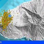El semáforo amarillo del PEVOLCA se mantiene en amarillo para la zona de Cumbre Vieja, en La Palma