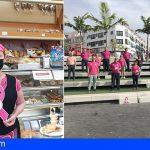 Taxistas y comercios isoranos visten de rosa por la lucha contra el cáncer de mama