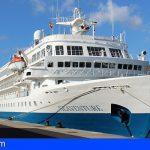 La Gomera abre temporada de cruceros con más de 50 escalas previstas hasta final de año