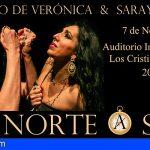 Antonio de Verónica y Saray Cortés presentan en Arona su espectáculo flamenco De norte a sur