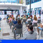 """Adeje dedica un mural de gran formato a veinte mujeres canarias """"Valientes, valiosas y visibles"""""""