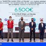 """El espectáculo benéfico """"Nuestra alma con La Palma"""" recaudó 6.500 euros para los afectados del volcán"""