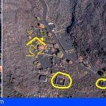 La masa de nueva tierra acecha a los perros en La Palma