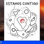 Sindicalistas de Base se solidariza con los damnificados del volcán de la isla de La Palma