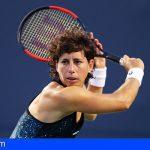 Suárez Navarro es embajadora del Tenerife Ladies Open en Guía de Isora