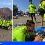 Adeje | El alumnado del PFAE Neptuno se forma en Bandera Azul