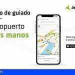Aena lanza una plataforma de guiado para el pasajero en el Aeropuerto de Tenerife Sur