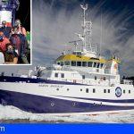 Finaliza la 1ra. campaña de investigación sobre los efectos de la entrada de lava en el medio marino